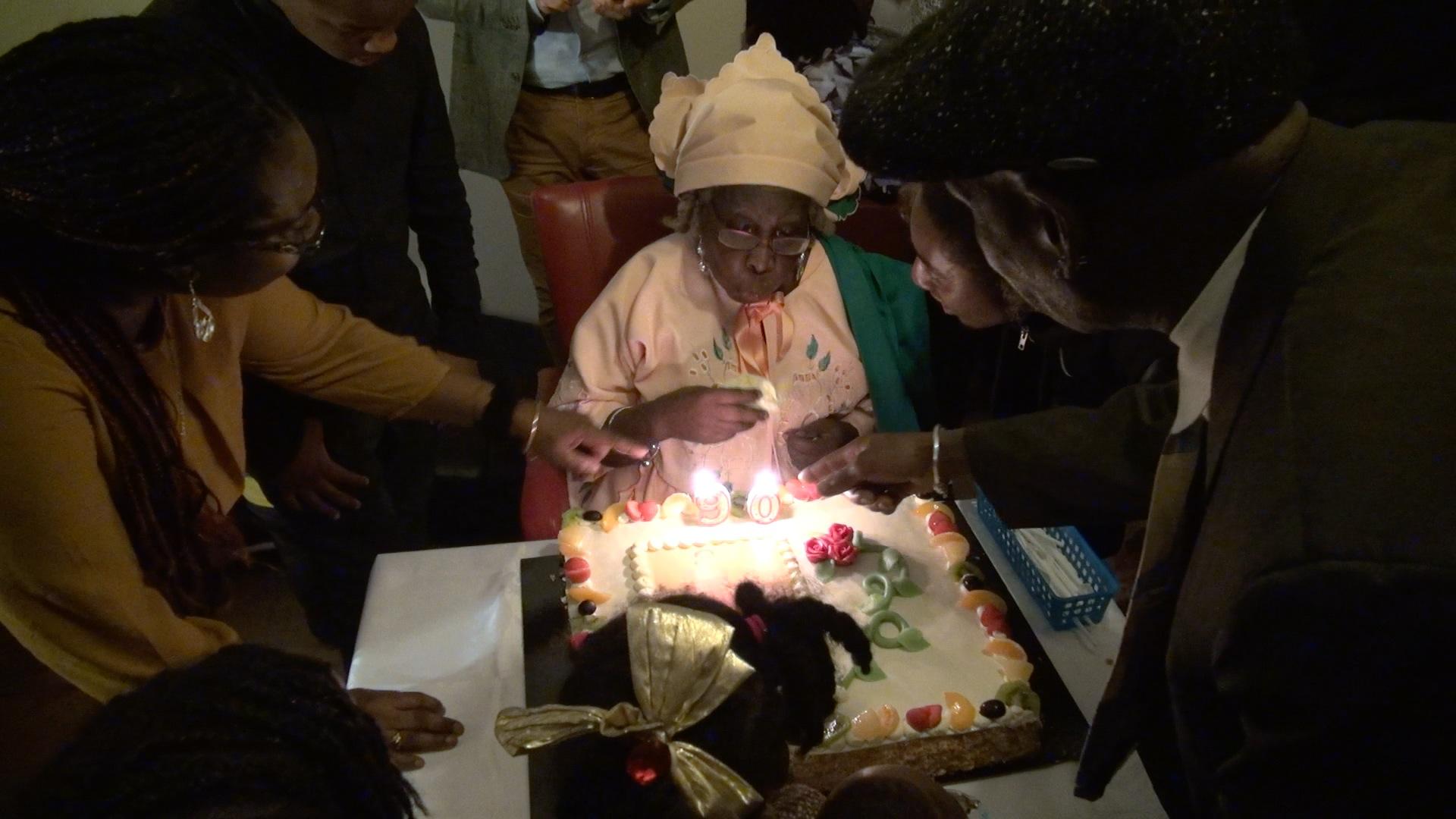 Verjaardag Oma Celine 90 jaar