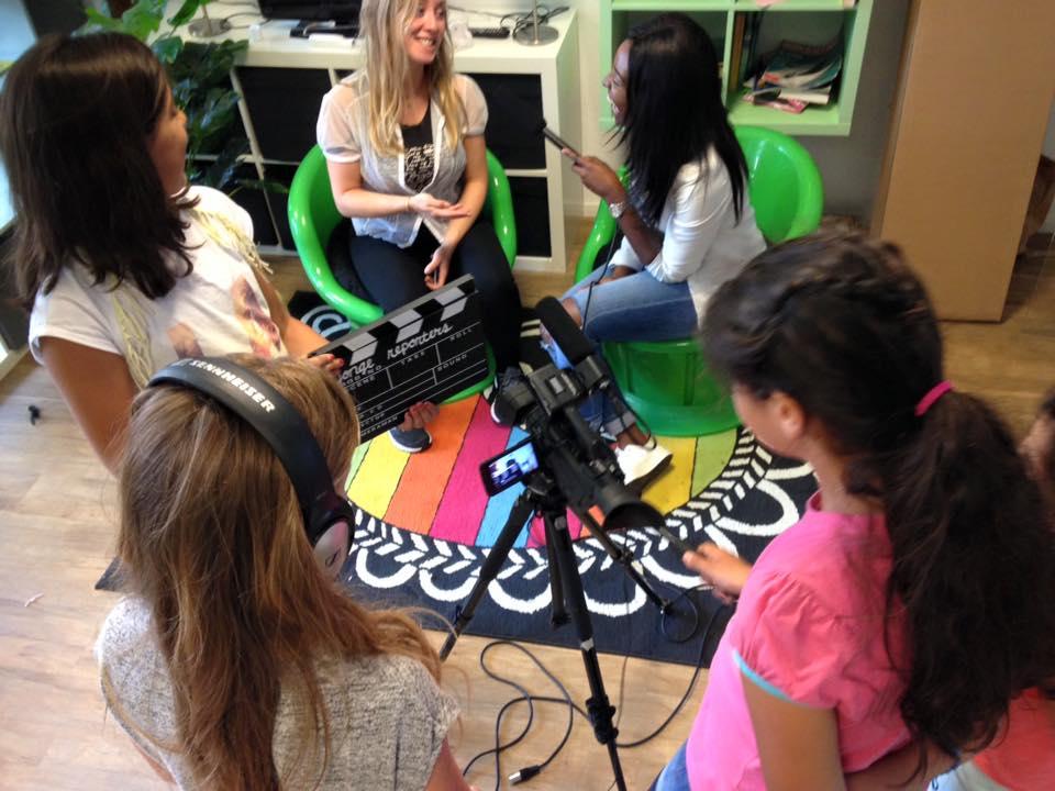 Workshop film bij naschoolse opvang